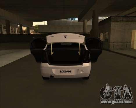 Dacia Logan Londero Misterios Urechiata for GTA San Andreas right view