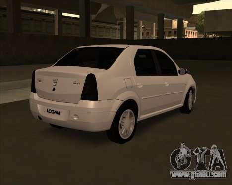 Dacia Logan Londero Misterios Urechiata for GTA San Andreas left view