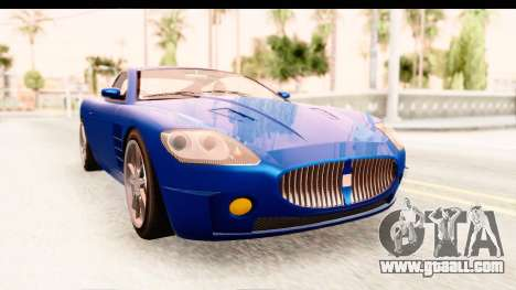 GTA EFLC TBoGT F620 v2 for GTA San Andreas back left view