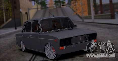 VAZ 2106 Car Sound for GTA San Andreas