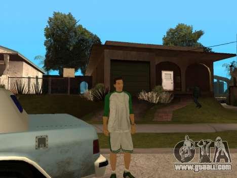White CJ v3 Improved for GTA San Andreas eighth screenshot