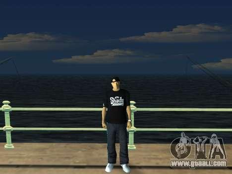 White CJ v3 Improved for GTA San Andreas seventh screenshot