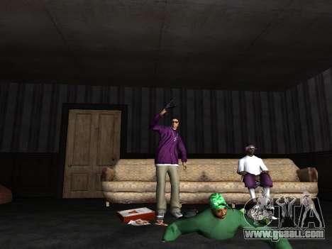 White CJ v3 Improved for GTA San Andreas forth screenshot
