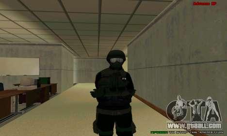 Skin FIB SWAT from GTA 5 for GTA San Andreas tenth screenshot