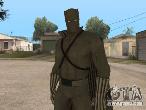 Marvel: Ultimate Alliance 2 - Black Phanter for GTA San Andreas second screenshot