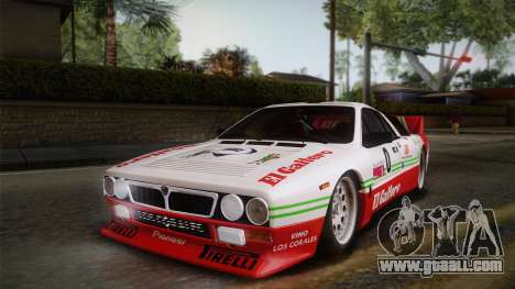 Lancia Rally 037 Stradale (SE037) 1982 Dirt PJ1 for GTA San Andreas right view