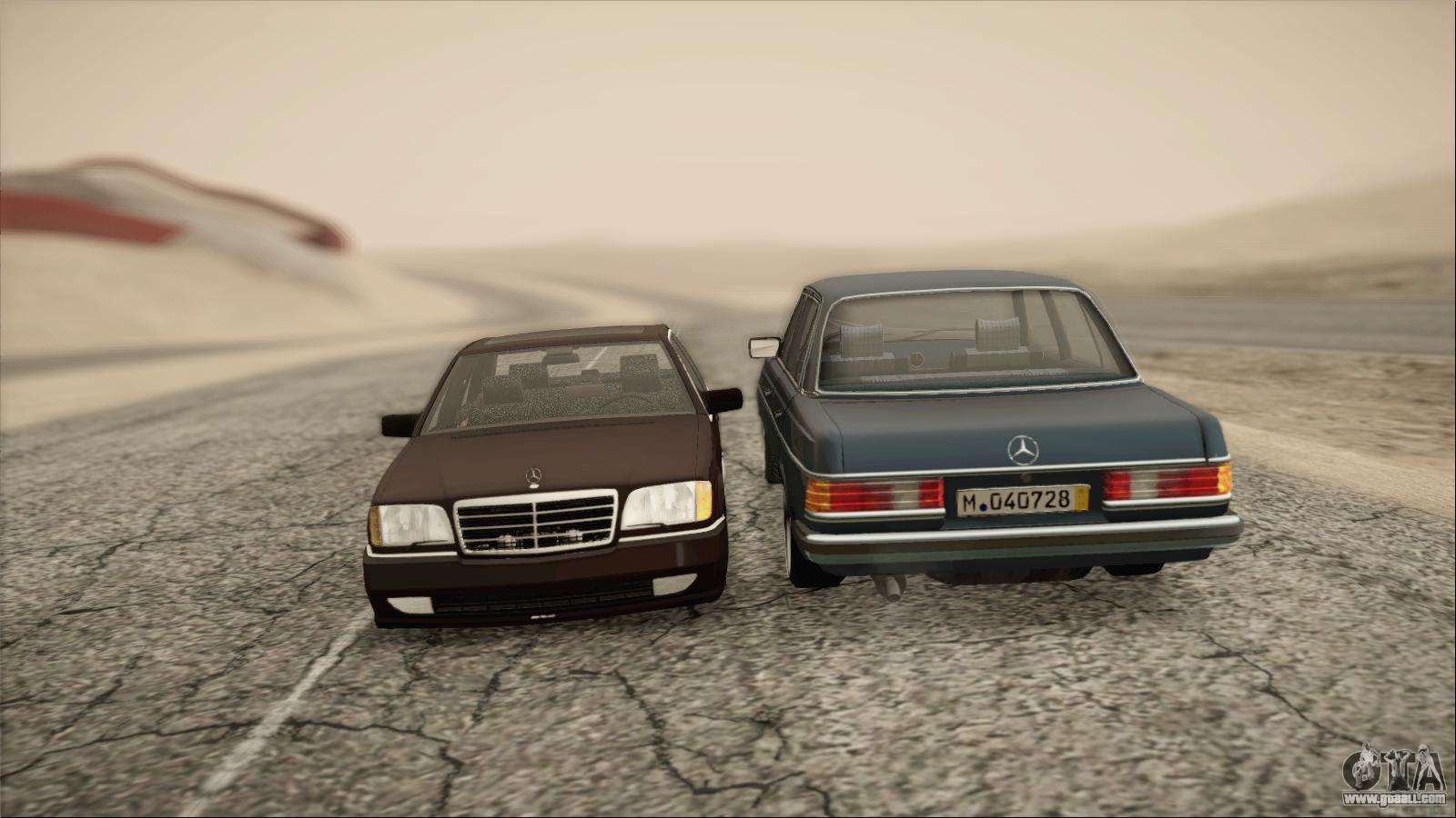 Mercedes benz s600 amg for gta san andreas for Mercedes benz games