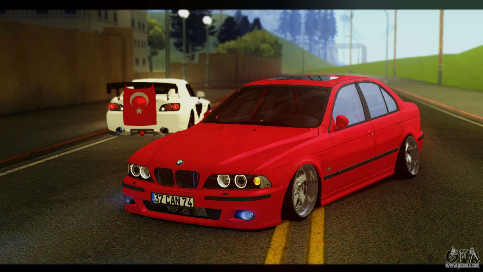 BMW M5 E39 For GTA San Andreas · Cars