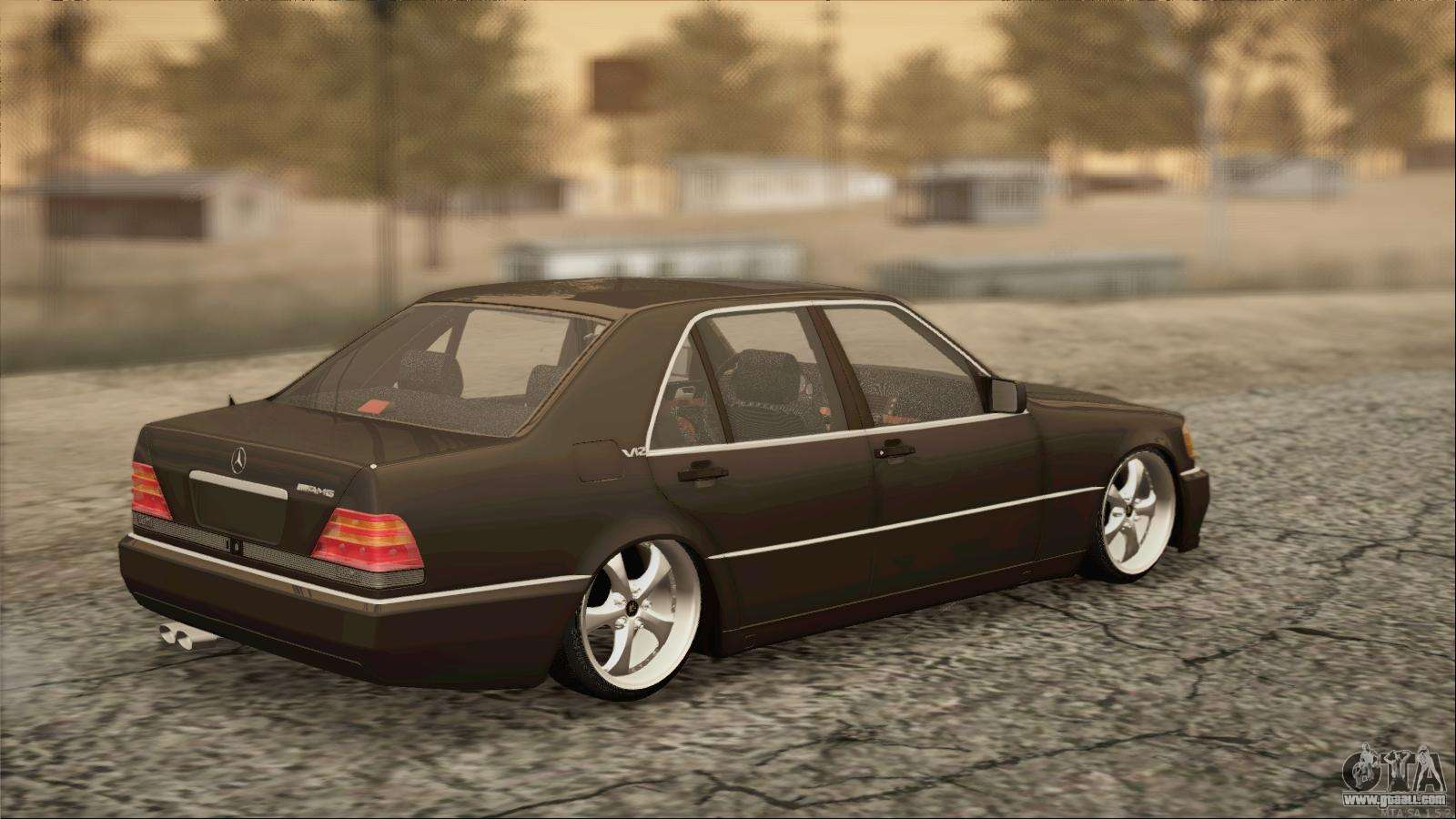 Mercedes benz s600 amg for gta san andreas for S 600 mercedes benz