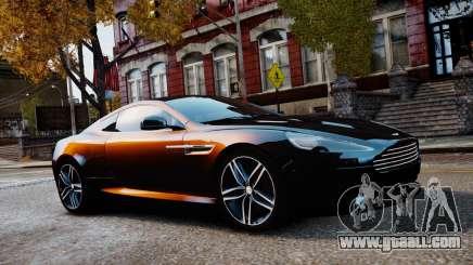 Aston Martin DB9 2013 for GTA 4