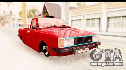 Peykan Pickup Full Sport Iranian for GTA San Andreas