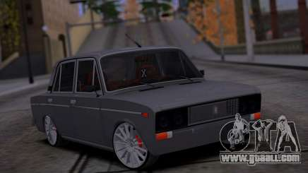 VAZ 2106 Car Sound for GTA San Andreas