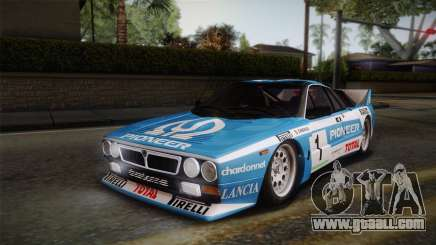 Lancia Rally 037 Stradale (SE037) 1982 Dirt PJ1 for GTA San Andreas