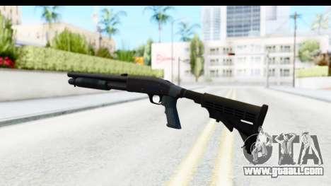 Tactical Mossberg 590A1 Black v4 for GTA San Andreas third screenshot