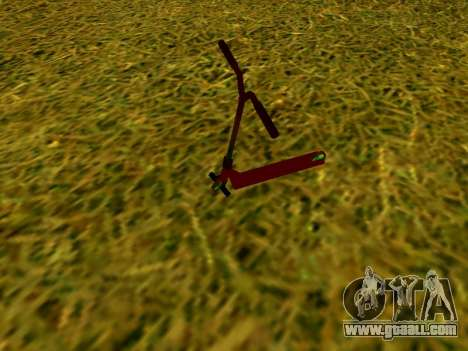 Stunt scooter for GTA San Andreas left view