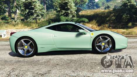 GTA 5 Ferrari 458 Italia [replace] left side view