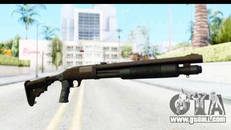Tactical Mossberg 590A1 Black v4 for GTA San Andreas second screenshot
