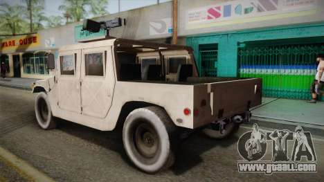 HMMWV Humvee for GTA San Andreas left view