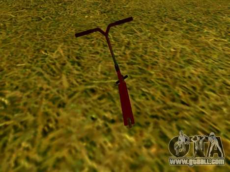 Stunt scooter for GTA San Andreas right view