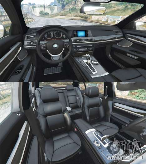 GTA 5 BMW 760Li (F02) Lumma CLR 750 [replace] front right side view