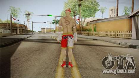 Sleeping Dogs - Wei Shen Muay Thai DLC Bald for GTA San Andreas third screenshot