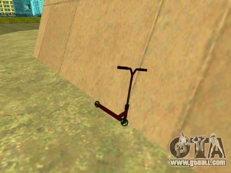 Stunt scooter for GTA San Andreas
