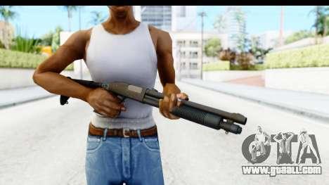 Tactical Mossberg 590A1 Black v4 for GTA San Andreas