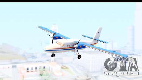 DHC-6-400 RCMPGRC for GTA San Andreas back left view