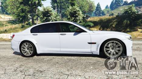 GTA 5 BMW 760Li (F02) Lumma CLR 750 [replace] left side view