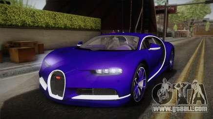 Bugatti Chiron 2017 v2.0 for GTA San Andreas