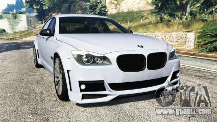 BMW 760Li (F02) Lumma CLR 750 [replace] for GTA 5