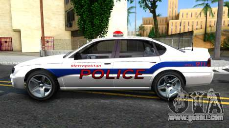 Declasse Merit Metropolitan Police 2005 for GTA San Andreas left view
