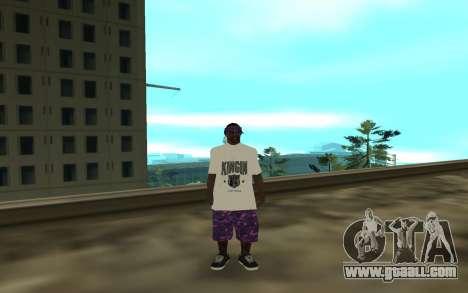 The Ballas 3 for GTA San Andreas