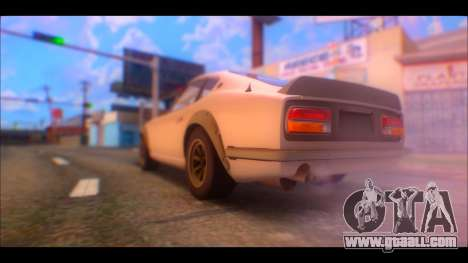 Nissan Fairlady 240Z 1971 for GTA San Andreas left view