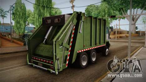 Ford Cargo Trashmaster 1992 for GTA San Andreas left view