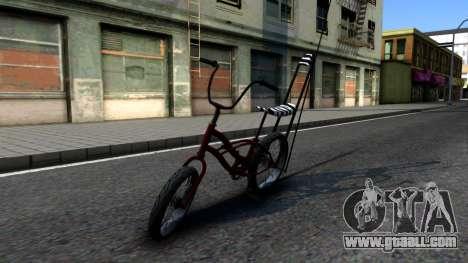 GTA SA Bike Enhance for GTA San Andreas left view