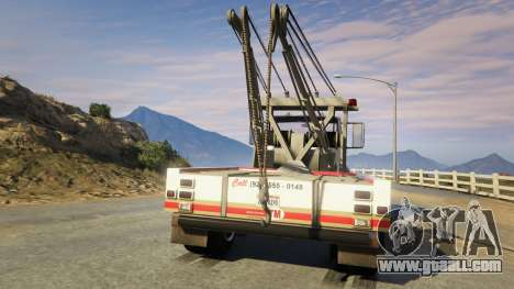 GTA 5 Teller-Morrow Towtruck from SOA rear left side view