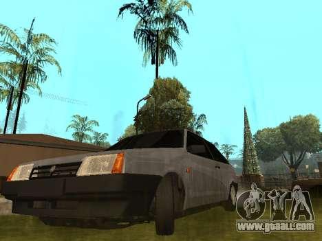 VAZ 2108 BPAN for GTA San Andreas inner view