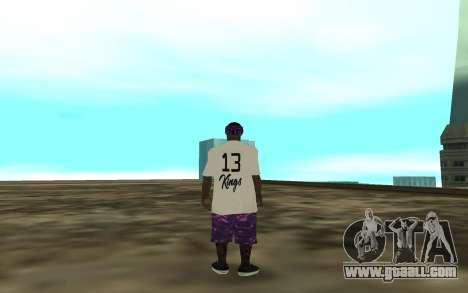 The Ballas 3 for GTA San Andreas third screenshot