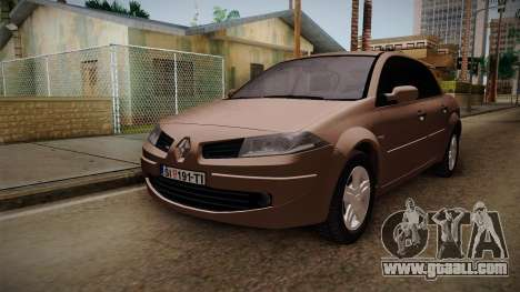 Renault Megane Sedan for GTA San Andreas right view
