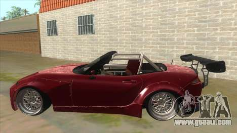 Mazda MX-5 2016 for GTA San Andreas left view