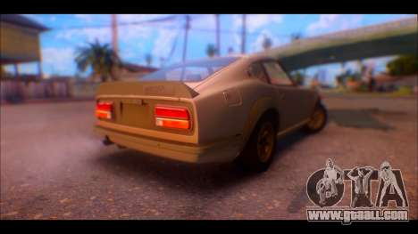 Nissan Fairlady 240Z 1971 for GTA San Andreas right view