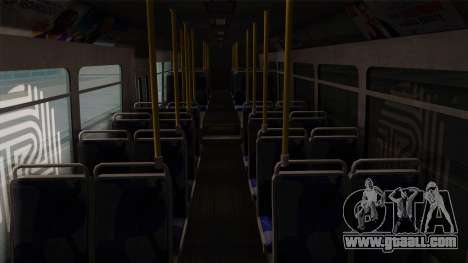 GTA V Transit Bus for GTA San Andreas inner view