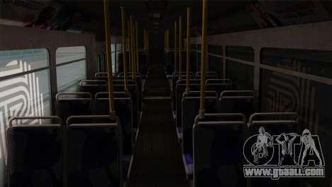 GTA V Transit Bus for GTA San Andreas inner view