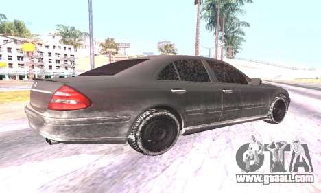 Mercedes-Benz E55 W211 AMG for GTA San Andreas