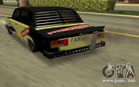 HUNTER 2105 DRIFT, EDITION for GTA San Andreas left view