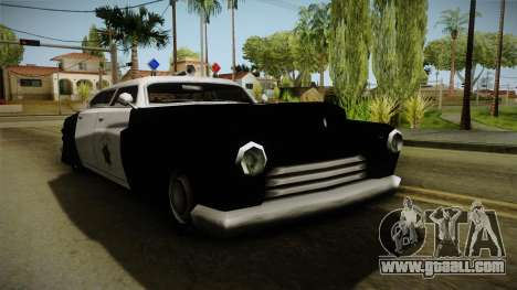 Hermes Classic Police San-Fierro for GTA San Andreas right view