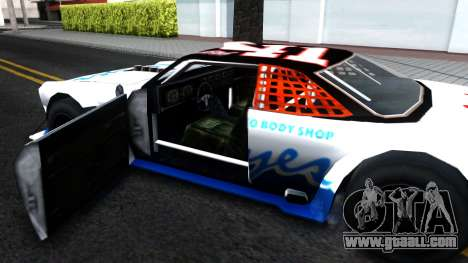 Drift Tampa for GTA San Andreas inner view