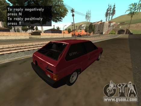 VAZ 2108 BPAN for GTA San Andreas right view