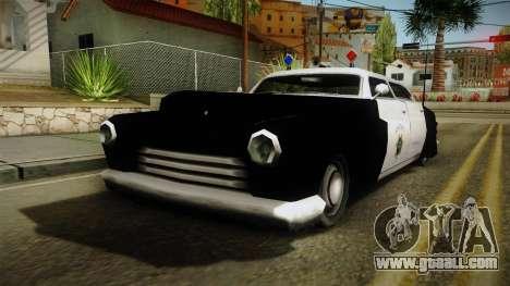 Hermes Classic Police San-Fierro for GTA San Andreas